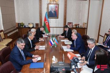 Azərbaycan XİN Elmar Məmmədyarovla Sergey Lavrovun görüşü barədə məlumat yayıb