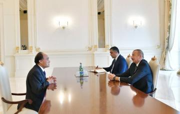 Prezident İlham Əliyev Beynəlxalq Telekommunikasiya İttifaqının baş katibini qəbul edib