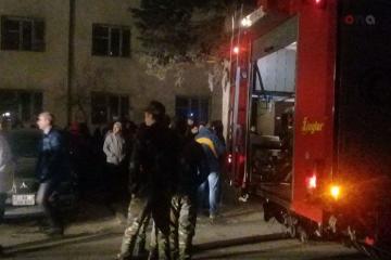 В Баку обрушился дом