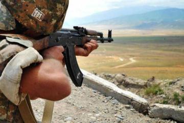 Ermənistan silahlı qüvvələri snayper tüfənglərindən də istifadə etməklə atəşkəsi 21 dəfə pozub