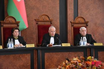 Constitution Court adopts decision on compliance of dissolution of Azerbaijani Parliament with Constitution- [color=red]UPDATED-2[/color]