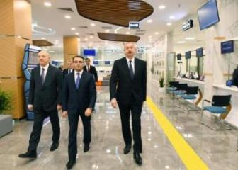 "President Ilham Aliyev attended opening of ""ASAN Həyat"" complex in Shamakhi"
