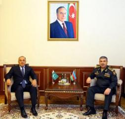 Azerbaijan Defense Minister meets with Pakistani Ambassador completing the diplomatic mission in our country
