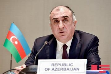 "Azerbaijani Foreign Minister: ""Armenia's persistent attempt to put forward the issue of status is a blow to the peace process"""