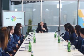 Президент Азербайджана: Мы живем для народа, государство должно защищать народ