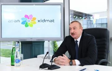 Президент Ильхам Алиев: Опыт пожилых, современность молодых и единство этого принесет нам пользу