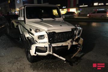 Bakıda dörd avtomobil toqquşub - [color=red]FOTO[/color]