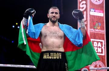 Azerbaijani boxer Mahammadrasul Majidov knockouts Tom Little in two rounds - [color=red]PHOTOSESSION[/color] - [color=red]VIDEO[/color]