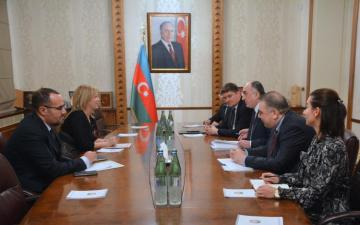 Foreign Minister Elmar Mammadyarov received the newly appointed Ambassador of Algeria to Azerbaijan