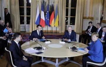 Normandy Four leaders discussing draft of joint document - Kremlin spokesman