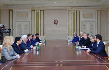 Azerbaijani President receives Russian Minister of Economic Development