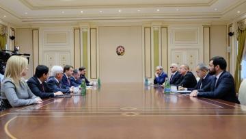 Prezident İlham Əliyev Rusiyanın İqtisadi İnkişaf nazirini qəbul edib