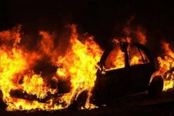 Automobile of Advisor to Iraqi Ambassador caught fire in Baku