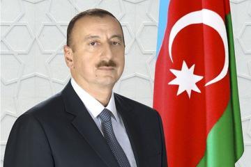 Президент Ильхам Алиев поздравил президента Кении