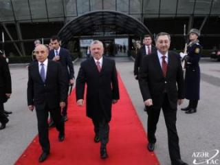 Official visit of King of Jordan Abdullah II to Azerbaijan ends