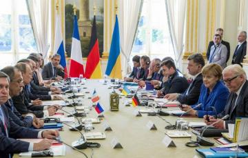 Normandy Four leaders adopted communique following Summit in Paris