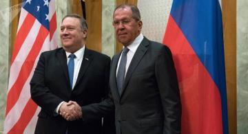 Russian Foreign Minister Lavrov and US Secretary of State Pompeo meet in US capital