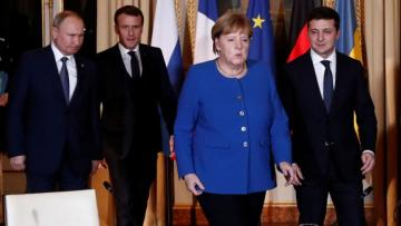 Меркель: Согласовано разведение еще в 3 пунктах Донбасса