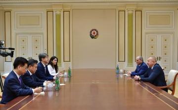 Президент Ильхам Алиев принял председателя Комитета статистики Республики Корея