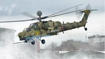 """Rusiyada """"Mi-28"""" döyüş helikopteri qəzaya uğrayıb"""