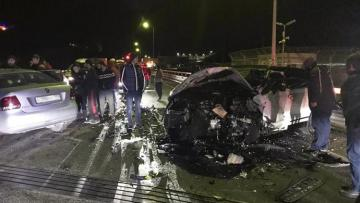 В Сочи четыре человека погибли при столкновении двух иномарок