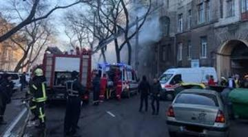 Death toll in Ukraine's Odessa fire rises to 16