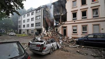One dead, many injured in German apartment block blast