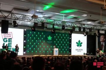 Ahmet Davutoglu announced his new party