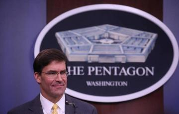 "Mark Esper: ""No cold war between US, China so far"""