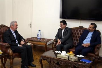 Abbas Musəvi: Şərqi Azərbaycan İranın xarici əlaqələrin inkişafında böyük rol oynayır