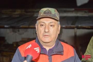 "Chief of State Fire Protection Service: ""Fire covered area of about 300 sq. m"""