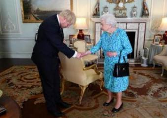 Queen Elizabeth to set out UK PM Johnson's agenda on Thursday