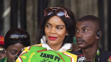 Zimbabwe vice president's wife charged with his attempted murder