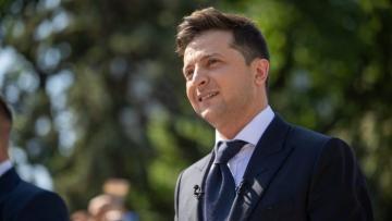 Official welcoming ceremony held for Ukrainian President Volodymyr Zelensky