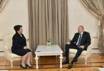 President Ilham Aliyev receives Chairman of the Senate of the Oliy Majlis of Uzbekistan - [color=red]UPDATED[/color]