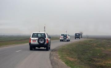 The next ceasefire monitoring exercise to be conducted on the state border of Azerbaijan and Armenia
