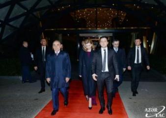 Завершился визит  Зеленского в Азербайджан