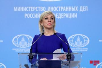 "Zakharova: ""If an agreement is reached on the exchange of detained persons, we will definitely support it"""