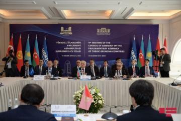 Baku hosts meeting of TurkPA Council, chairmanship passed to Azerbaijan from Turkey