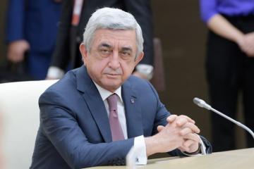Ermənistanın sabiq prezidenti Serj Sarkisyanın əmlakına həbs qoyulub