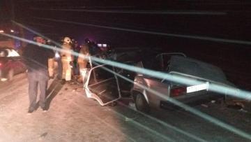 Rusiyada yol qəzasında 4-ü polis əməkdaşı olmaqla 5 nəfər ölüb