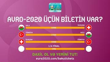 AVRO-2020 biletlərinin birbaşa satış mərhələsi başlayıb