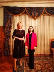 Consultations held between Maria Zakharova and Leyla Abdullayeva in Russia
