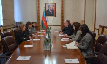 Foreign Minister received  head of ICRC Delegation in Azerbaijan.