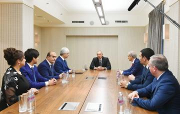 Ильхам Алиев: Отношение к азербайджанцам в России очень позитивное, они живут спокойно