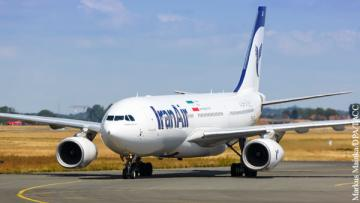 В Иран прибыли новые самолеты Airbus