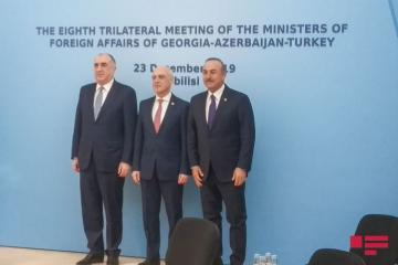 Meeting of Azerbaijani, Turkish and Georgian FMs ends - [color=red]UPDATED[/color]