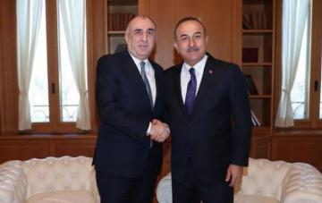 Azerbaijani FM meets with his Turkish counterpart - [color=red]UPDATED[/color]