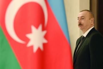 President of Croatia congratulates Azerbaijani President