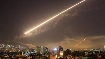 Дамаск подвергся ракетной атаке